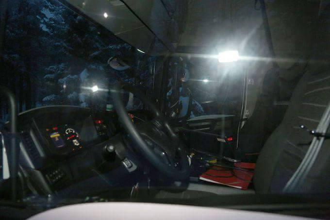 Interieurshots nieuwe Scania