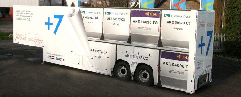 Van Eck bouwt trailer voor Japan