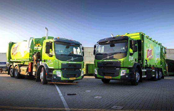 Volvo FE CNG vuilniswagens voor Dar