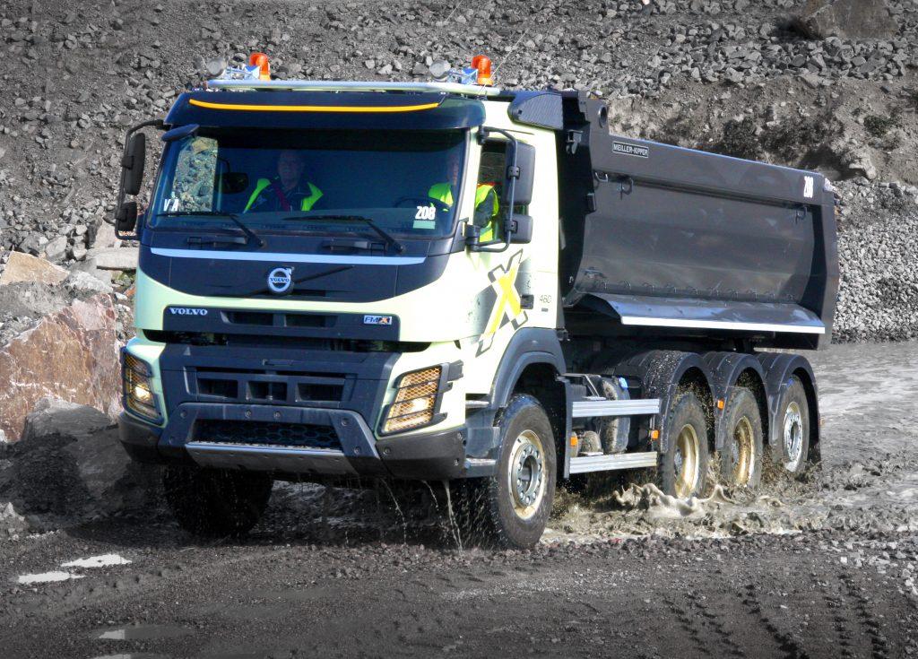 Volvo marktleider bouwtrucks