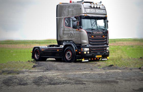 Scania Silver Griffin voor Erik Groot
