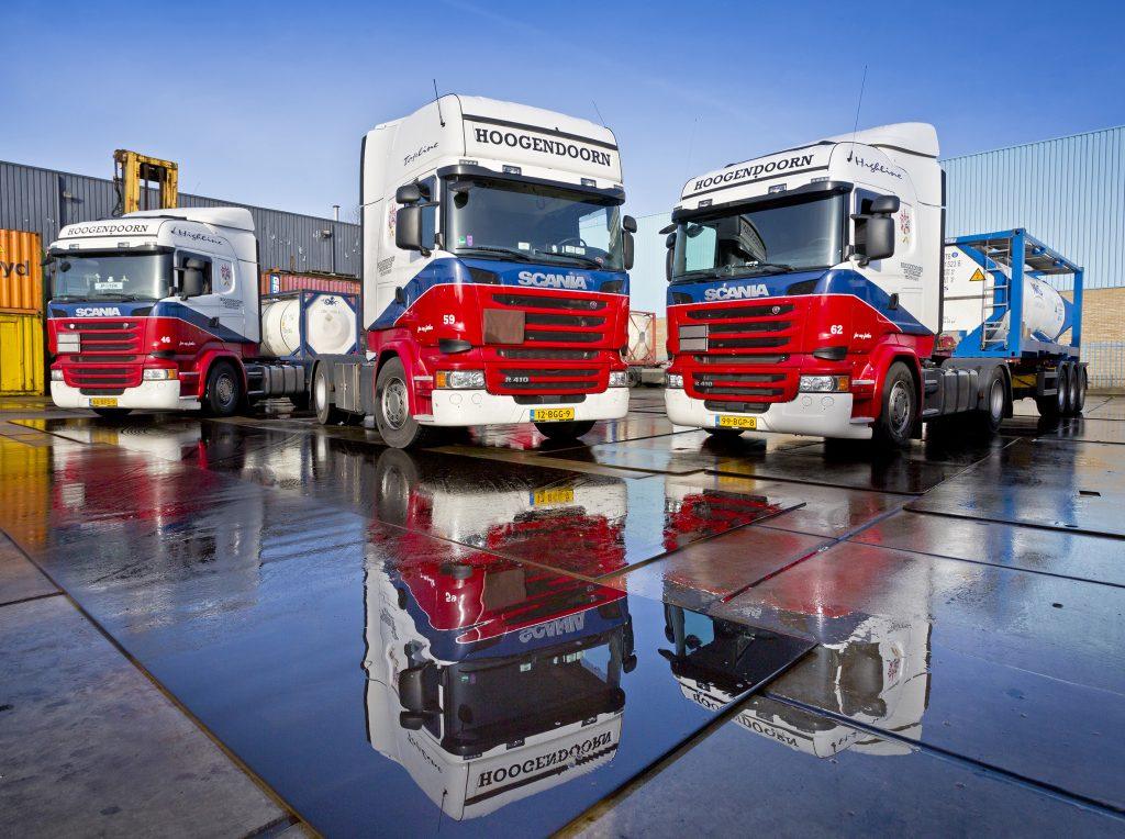 Nieuwe Scania R410's Hoogendoorn Transport