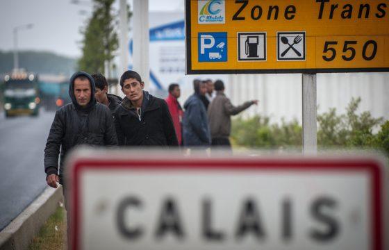 Calais beter maar nog niet veilig