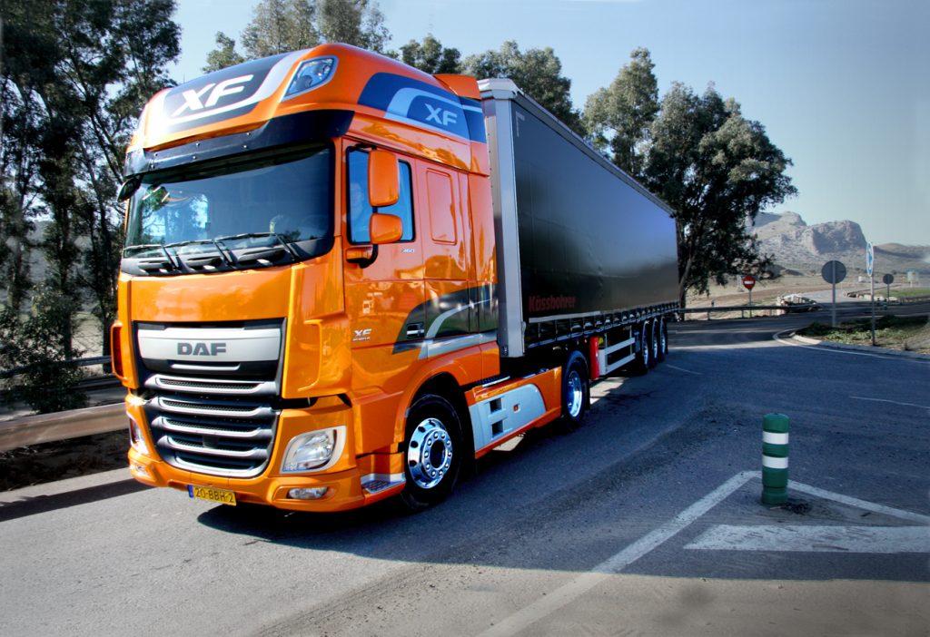 DAF XF nummer 1 in Nederland