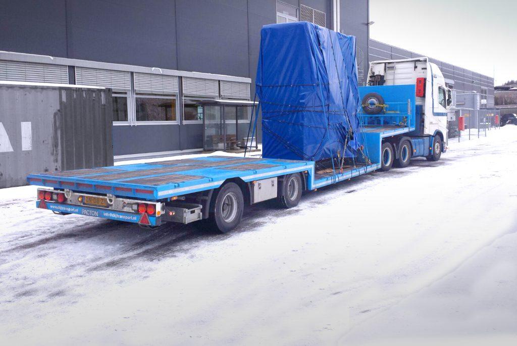 Pacton kuip-semi voor DKJ Transport