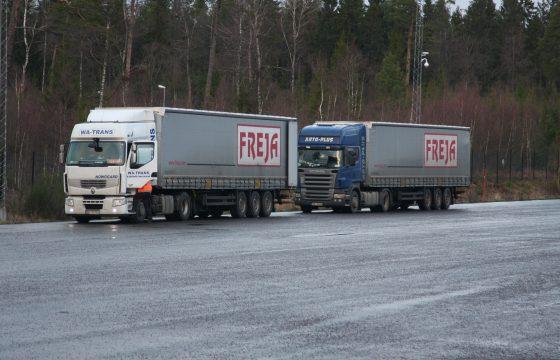 Zweeds transport lijkt geheel ontwricht