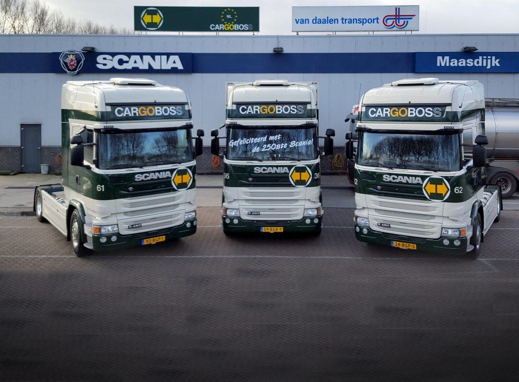 Cargoboss krijgt 250e Scania