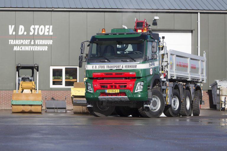 Nieuwe Volvo FMX 8x6 Van der Stoel