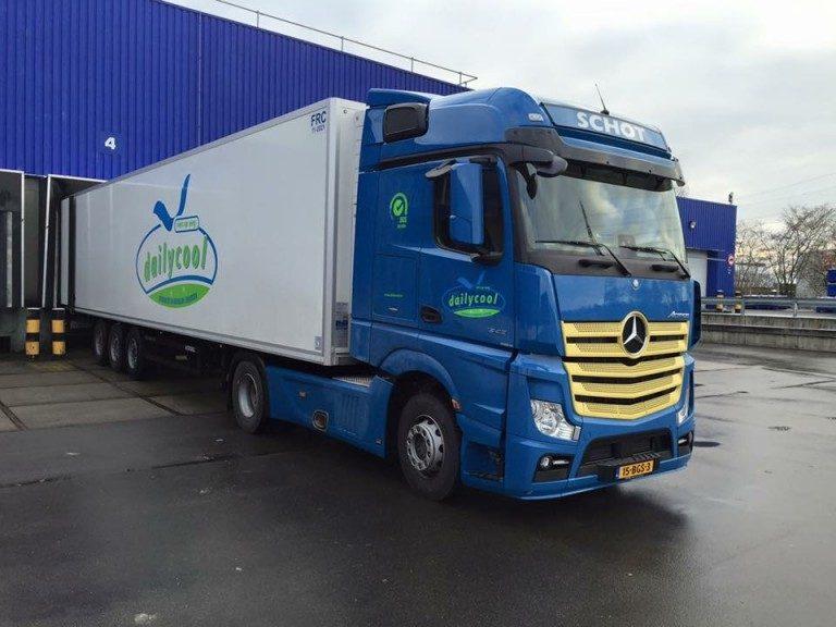 17 Mercedes-Benz Trucks voor Dailycool