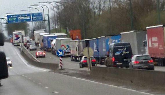 Tankstations niet bevoorraad in België