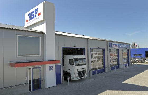 Nieuw dealerpand DAF BSF Leeuwarden