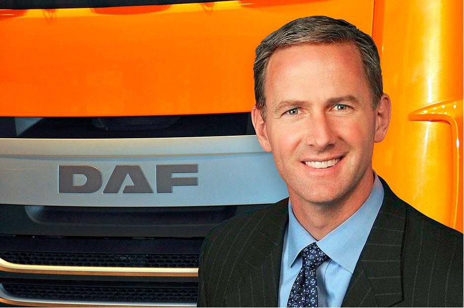 Preston Feight nieuwe topman DAF