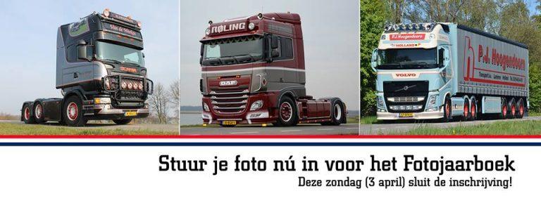 Jouw truck in het Fotojaarboek 2016