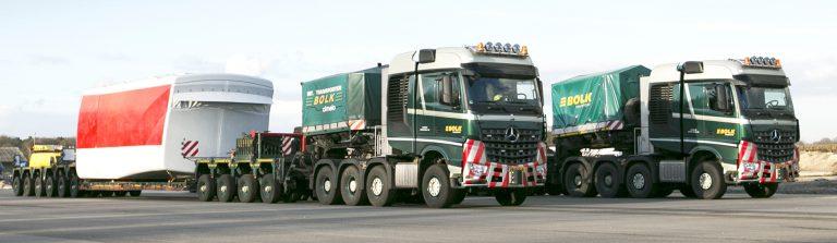 Arocs SLT's voor Bolk Transport