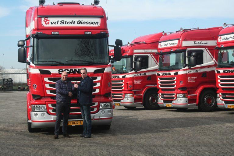 Scania R450's Van der Stelt