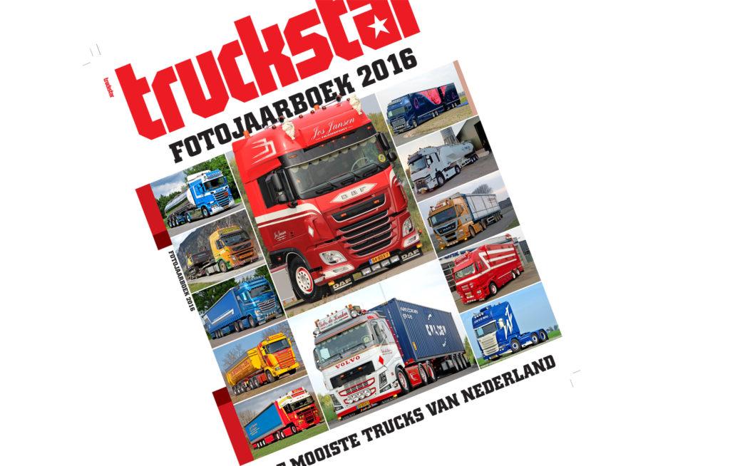 Het Truckstar Fotojaarboek 2016 is uit
