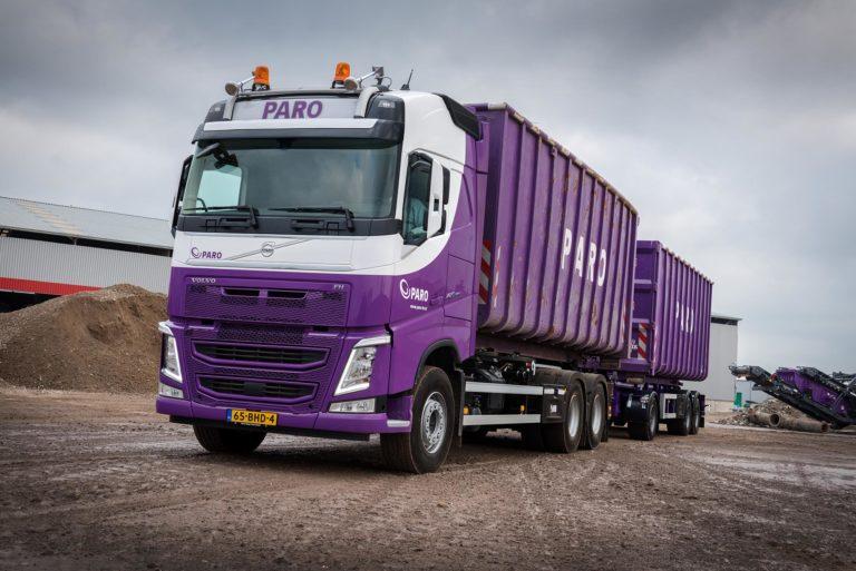 Vier Volvo FH 420's voor PARO