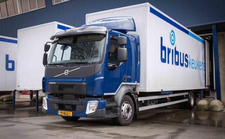 Volvo FL bakwagens voor Bribus
