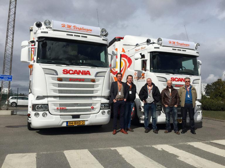 Speciale Scania-order H.M. Verploegen