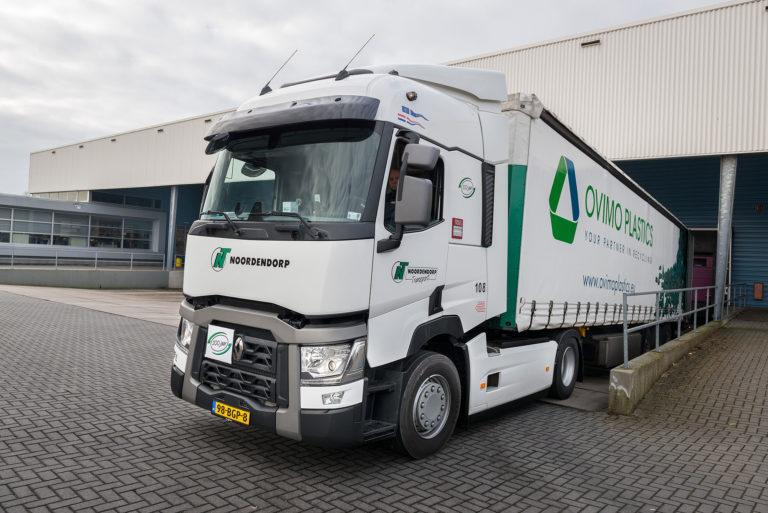 Renault Truck voor Noordendorp Transport
