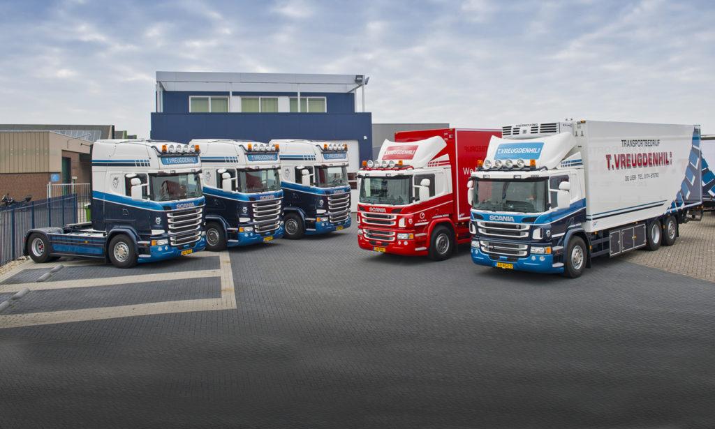 Nieuwe Scania's voor T. Vreugdenhil