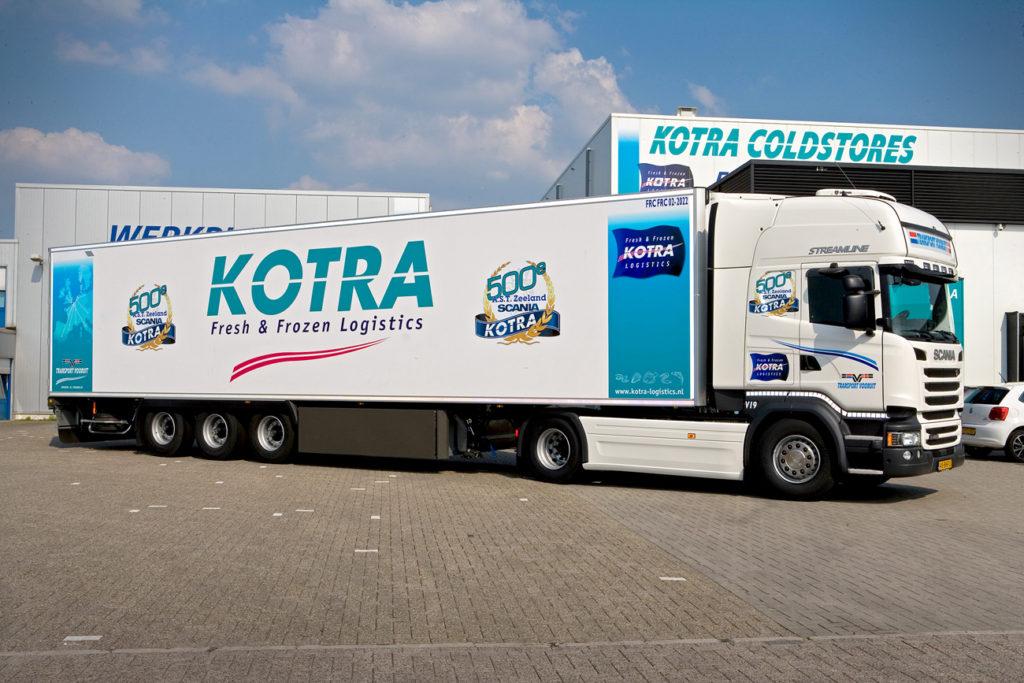 500ste Scania voor Kotra Groep