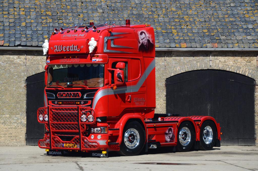 Nieuwe Scania R450 Penoza voor Weeda