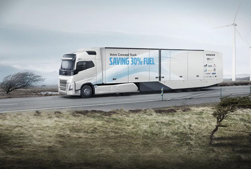 Volvo Concept Truck zuinig met diesel