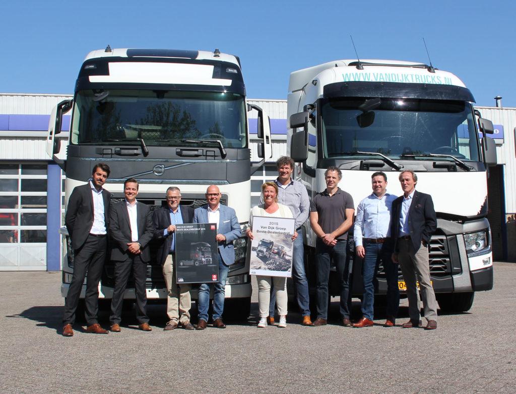 Van Dijk Trucks beste Volvo-dealer