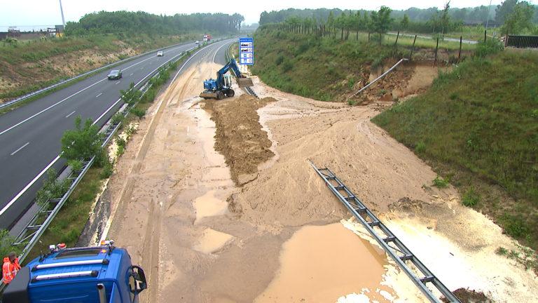 A74 en Autobahn 61 bij Venlo dicht