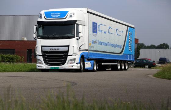 Truckstar rijdt DAF TelliSys