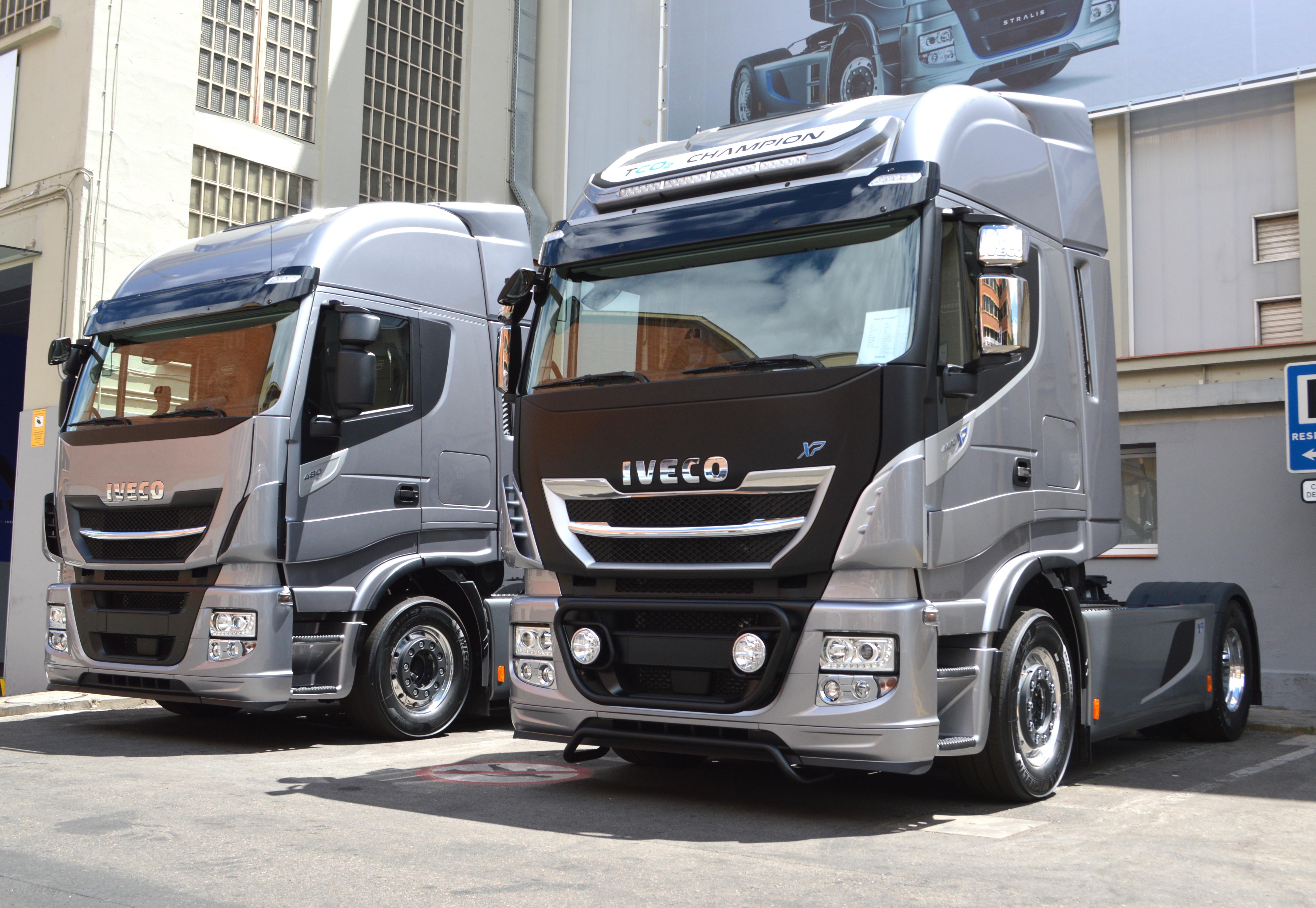 New Stralis van Iveco