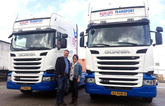 Roelofs kiest voor Scania R410