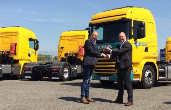 10 Scania's voor De Rijke