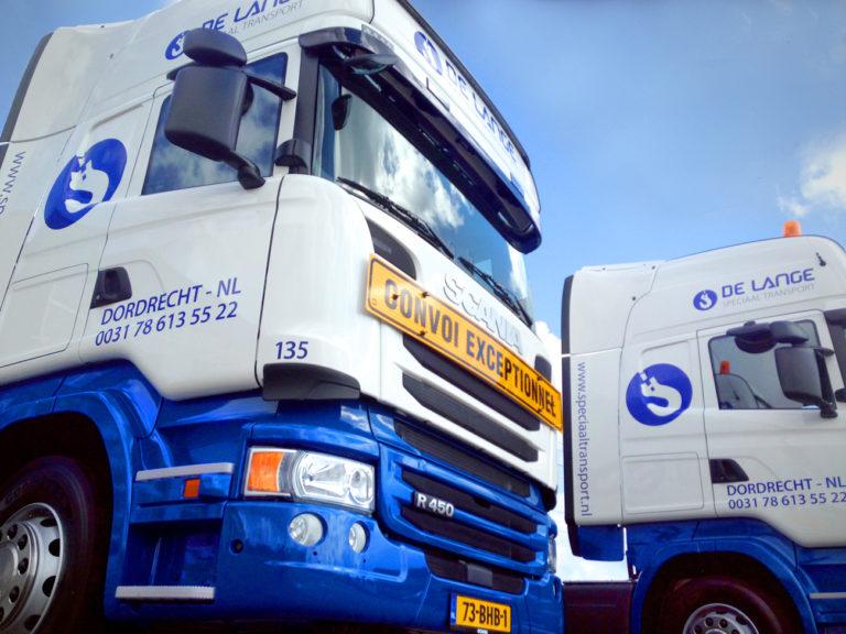 Scania R450's voor De Lange Speciaal Transport