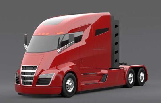 Nieuw truckmerk met elektrische truck
