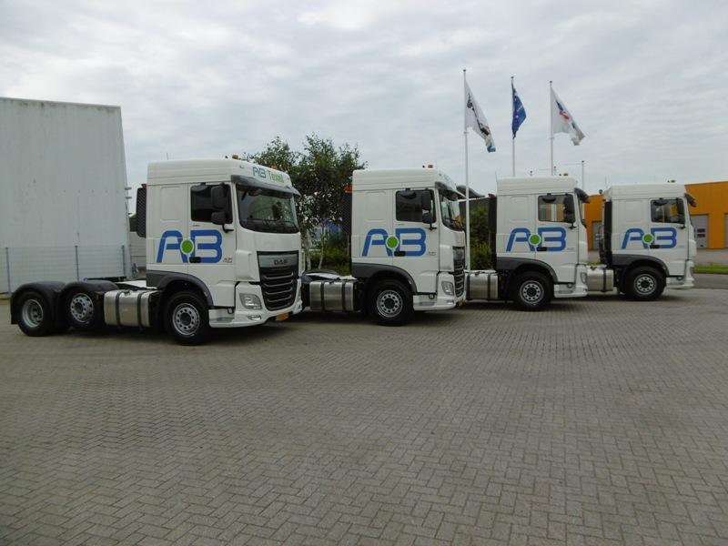 75 x DAF XF voor AB Texel