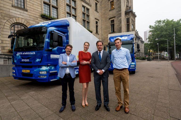 Breytner Transport geheel elektrisch