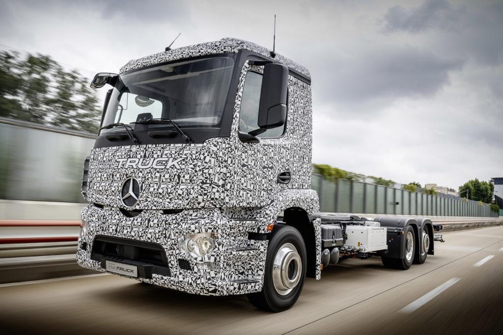 Eerste vol-elektrische zware truck