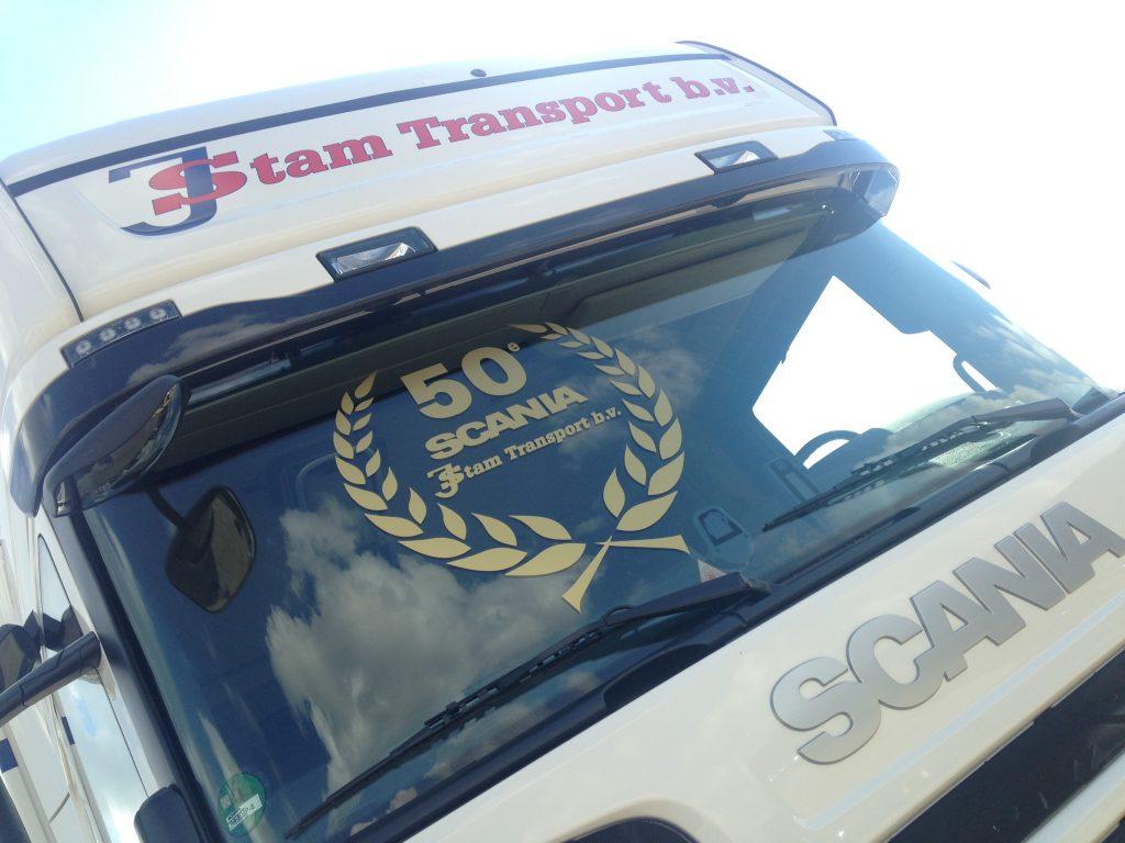 Vijftigste Scania voor J. Stam