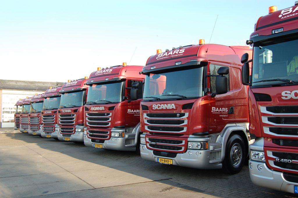 Baars kiest voor acht Scania's R450