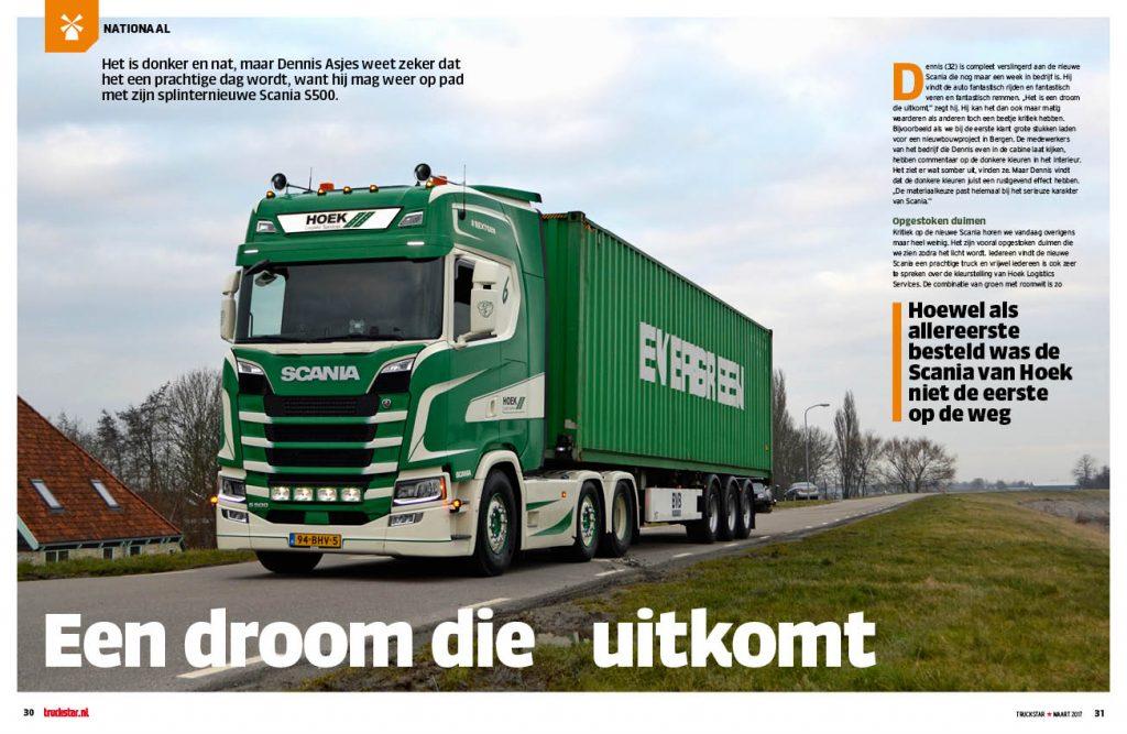 Scania S500 Hoek