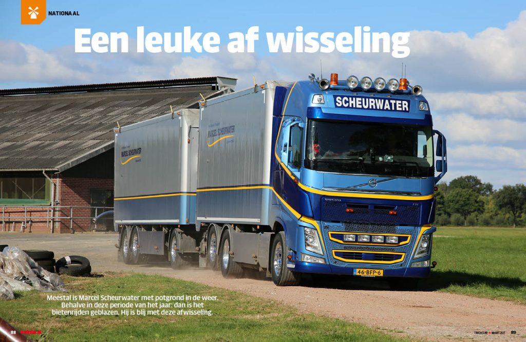 Volvo FH Scheurwater