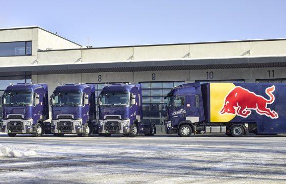Drie keer Renault T voor Red Bull Racing