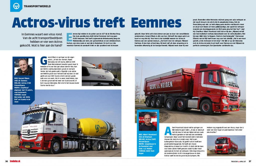 Actros-virus treft Eemnes