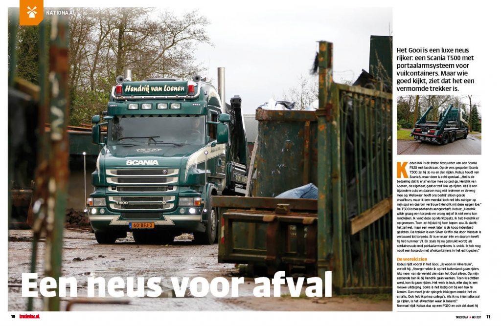 Scania Torpedo afval