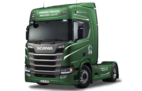 Scania R450 wint Green Award