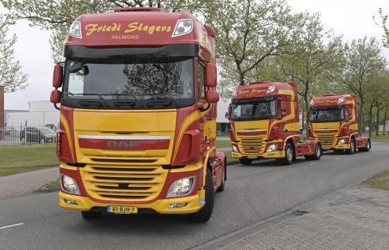 Friedi Slegers Transport stapt geleidelijk over op DAF