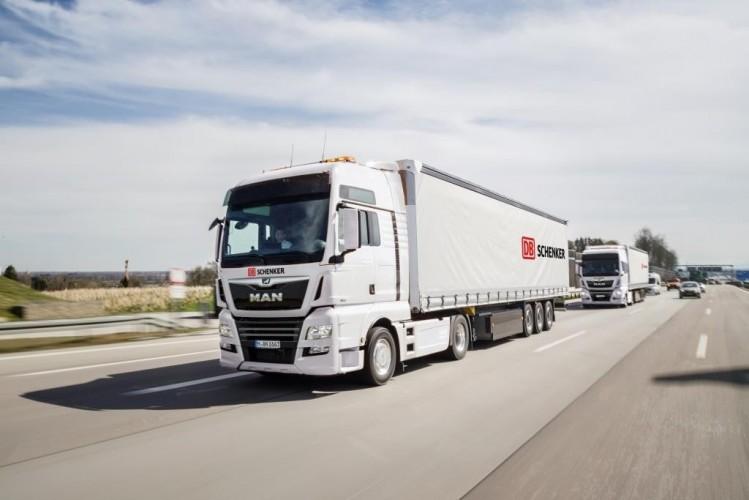 Proef met autonome trucks op Duitse snelweg A9