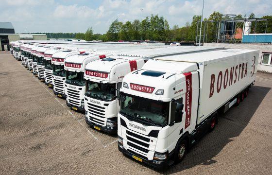 10 nieuwe Scania's